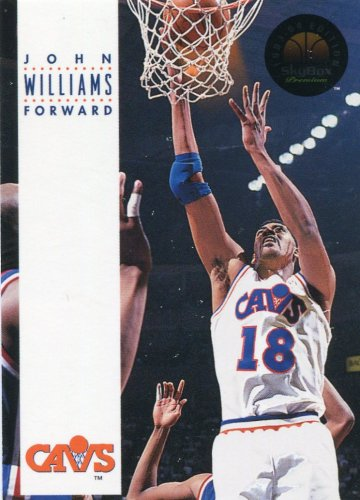 1993 Skybox Basketball Card #54 John Williams