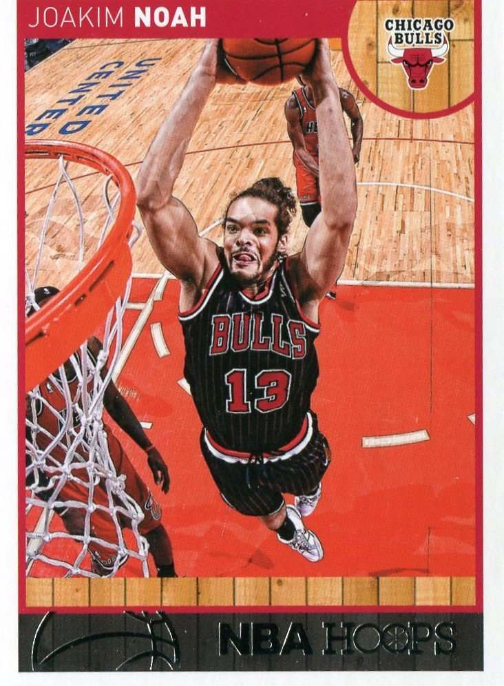 2013 Hoops Basketball Card #81 Joakim Noah