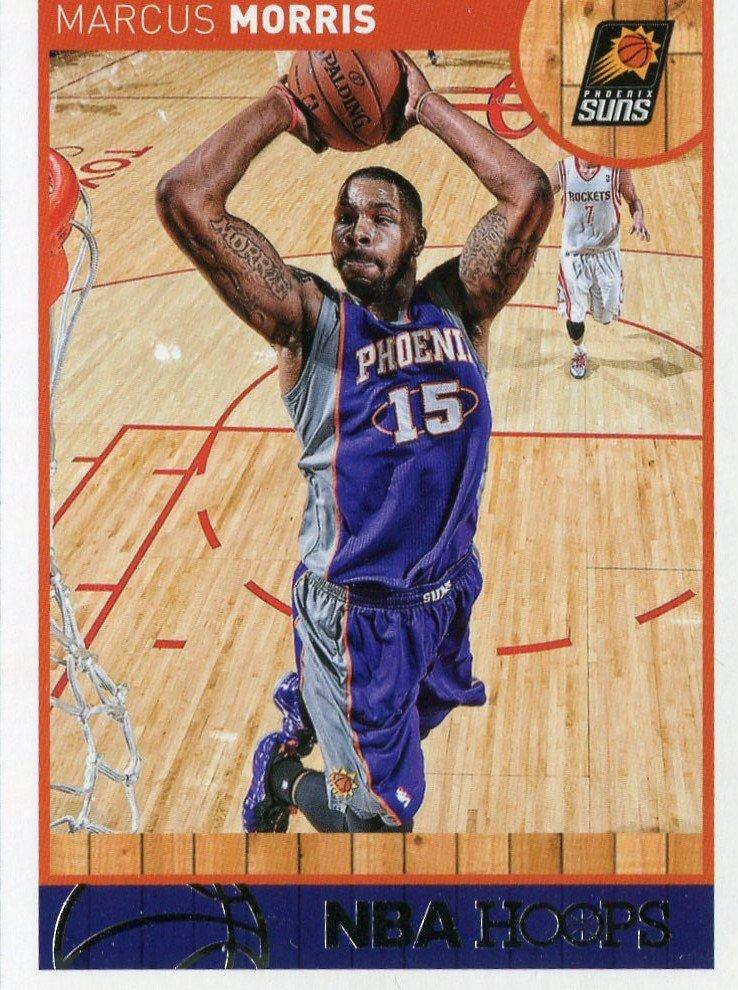 2013 Hoops Basketball Card #86 Marcus Morris