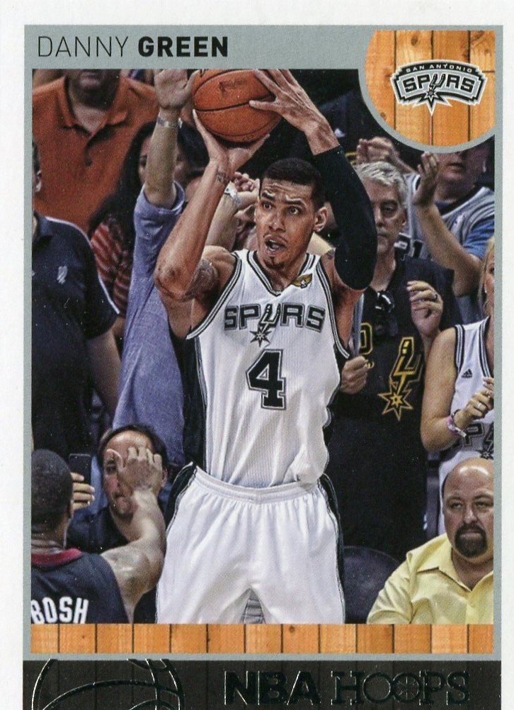 2013 Hoops Basketball Card #90 Danny Green