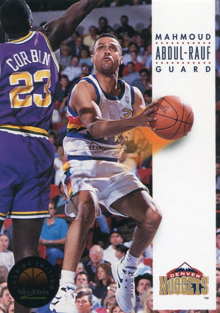 1993 Skybox Basketball Card #60 Mahmoud Abdul-Rauf