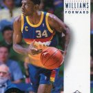 1993 Skybox Basketball Card #65 Reggie Williams