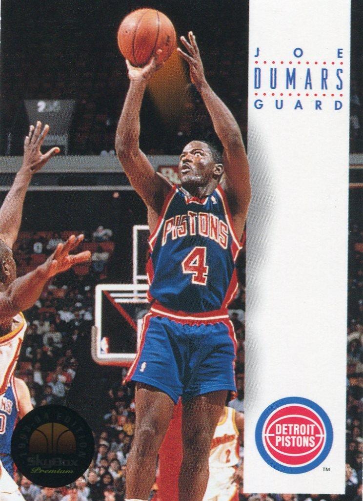 1993 Skybox Basketball Card #66 Joe Dumars