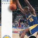 1993 Skybox Basketball Card #78 Latrell Sprewell