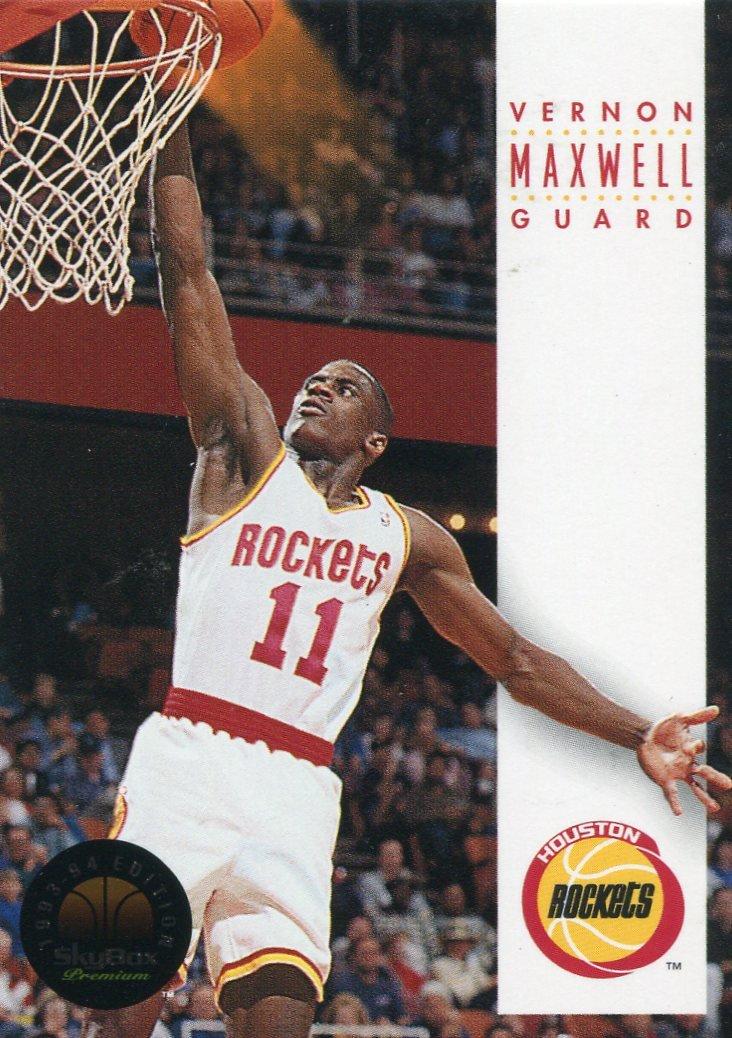 1993 Skybox Basketball Card #80 Vernon Maxwell