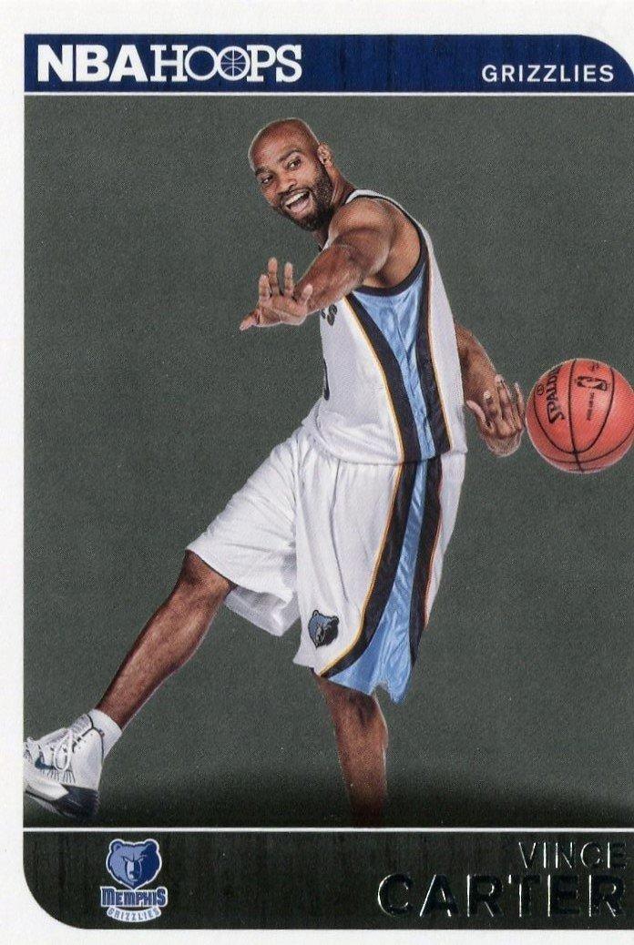 2014 Hoops Basketball Card #235 Vince Carter