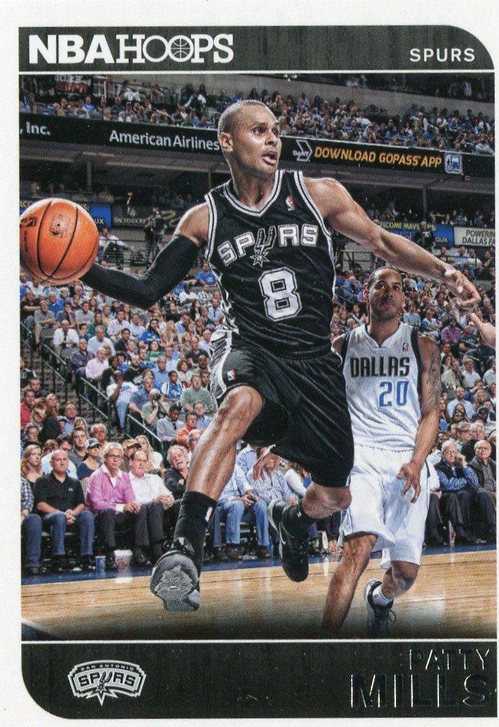 2014 Hoops Basketball Card #228 Patty Mills