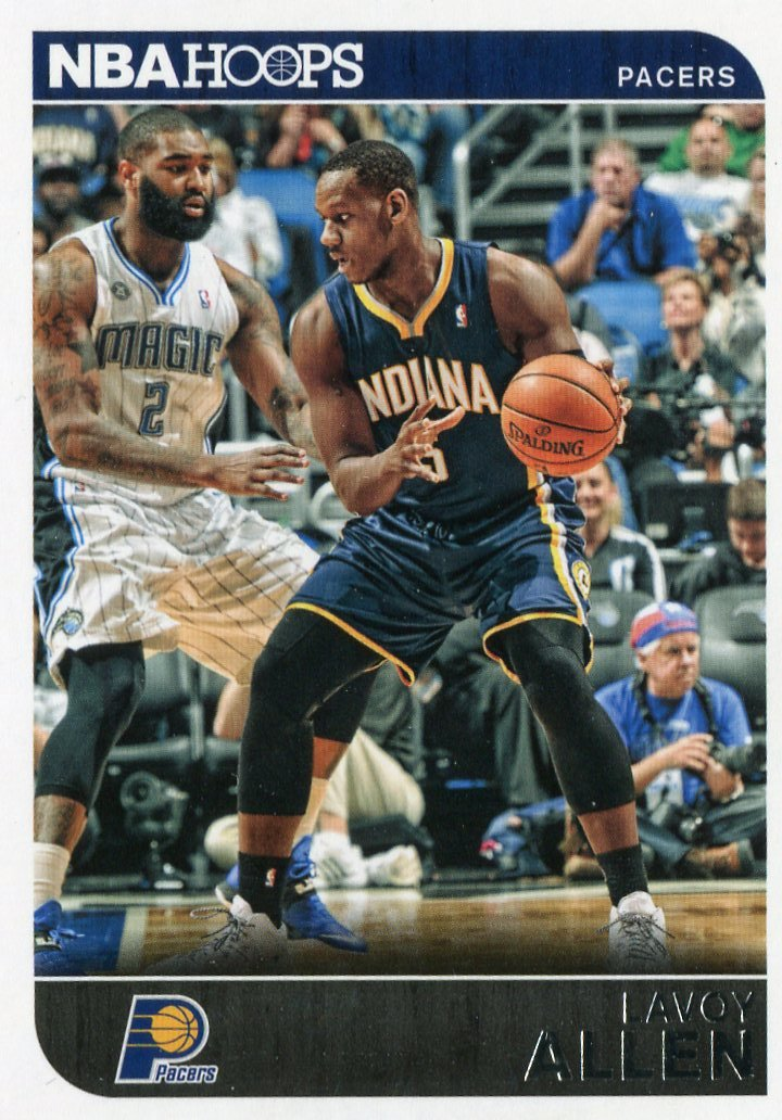 2014 Hoops Basketball Card #237 Lavoy Allen