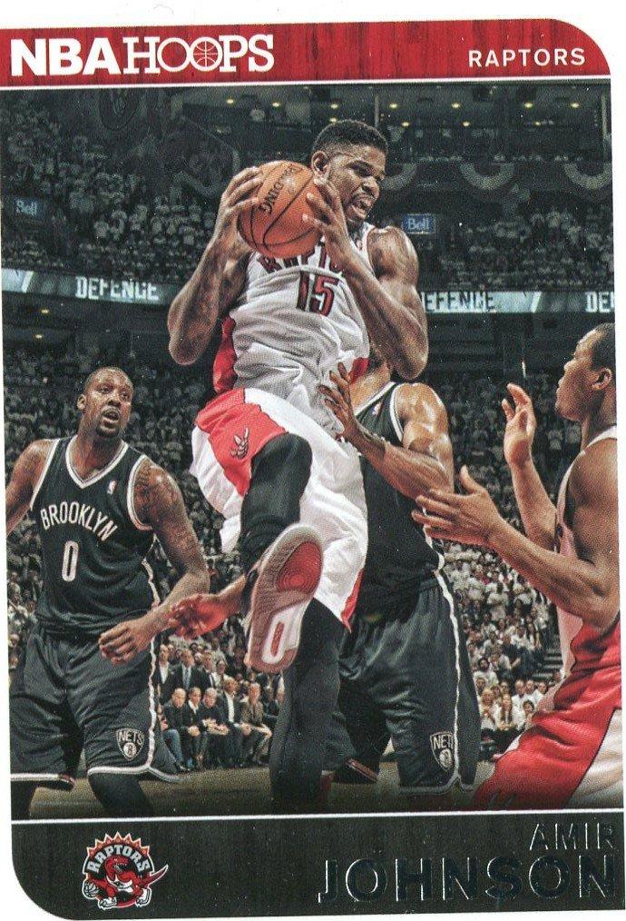 2014 Hoops Basketball Card #238 Amir Johnson