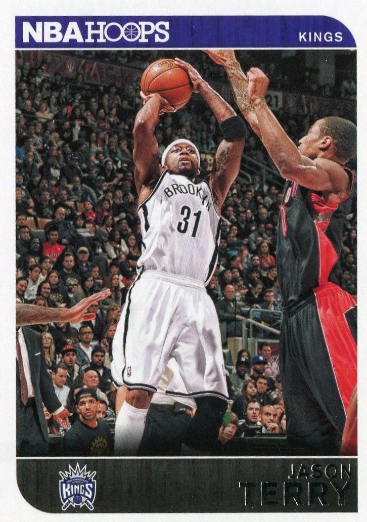 2014 Hoops Basketball Card #246 Jason Terry