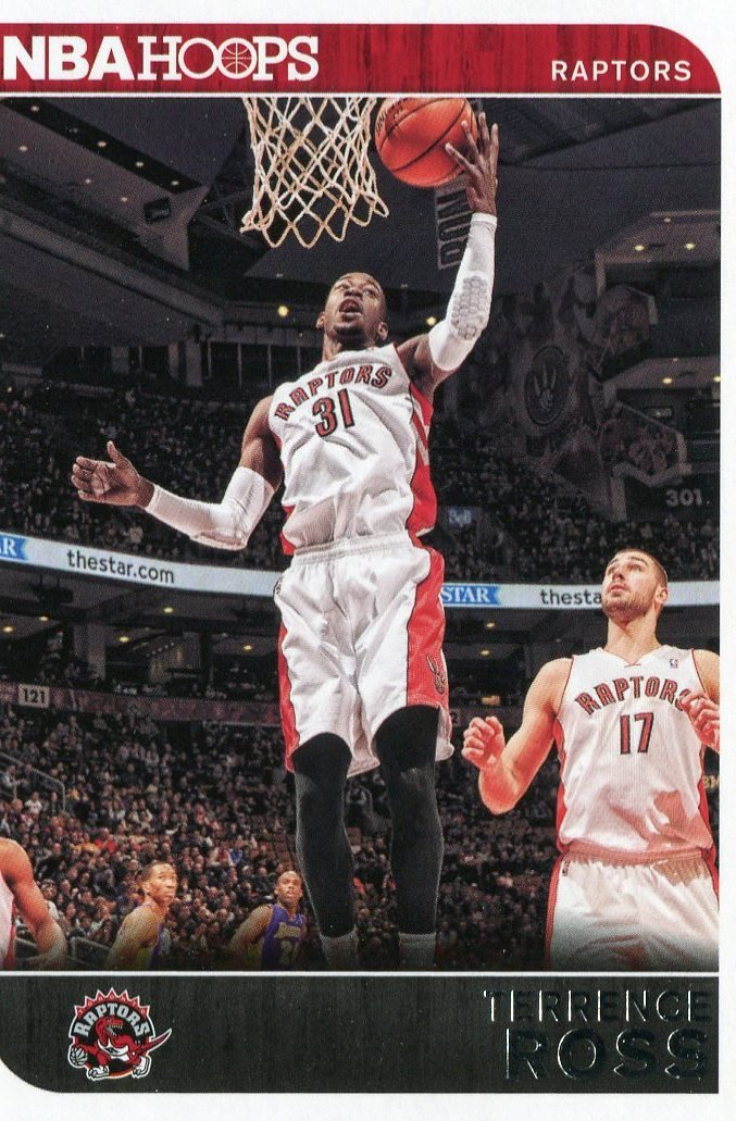 2014 Hoops Basketball Card #258 Terrence Ross