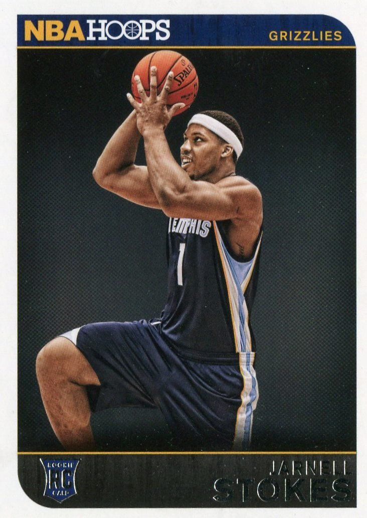 2014 Hoops Basketball Card #289 Jarnell Stokes