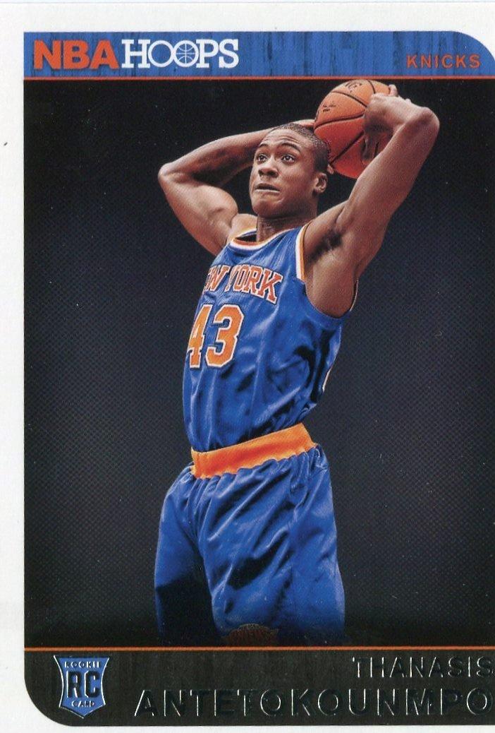 2014 Hoops Basketball Card #300 Thanasis Antetokounmpo