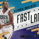 2014 Hoops Basketball Card Fast Lane #10 Kemba Walker
