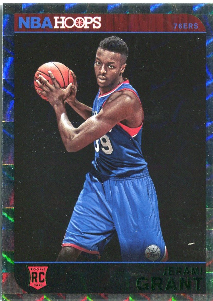 2014 Hoops Basketball Card Silver Parallel #293 Jeremy Grant
