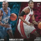 2014 Hoops Basketball Card Trading Places #2 Jamal Mashburn / Eddie Jones