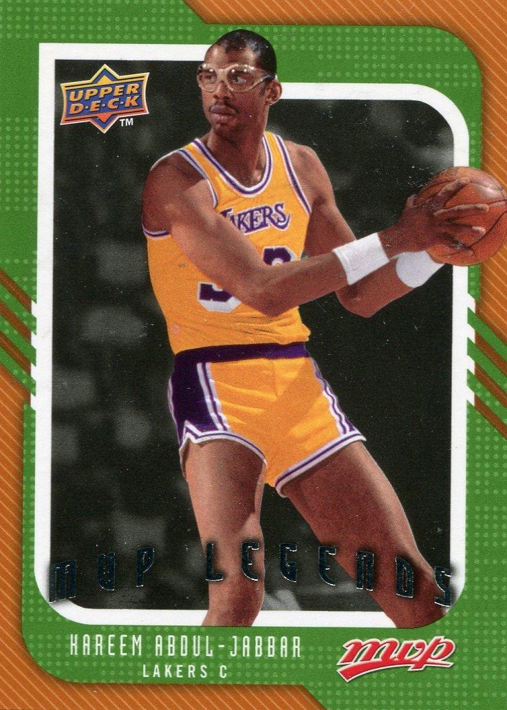 2008 Upper Deck MVP Basketball Card #252 Hareem Abdul-Jabar