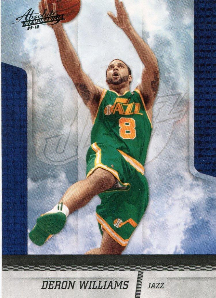 2009 Absolute Basketball Card #15 Deron Williams