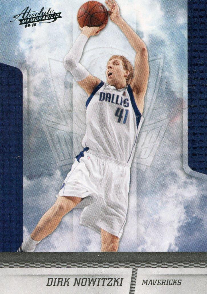2009 Absolute Basketball Card #18 Dirk Nowitzki