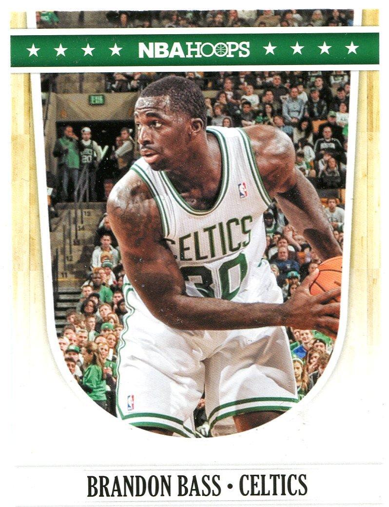 2011 Hoops Basketball Card #8 Brandon Bass