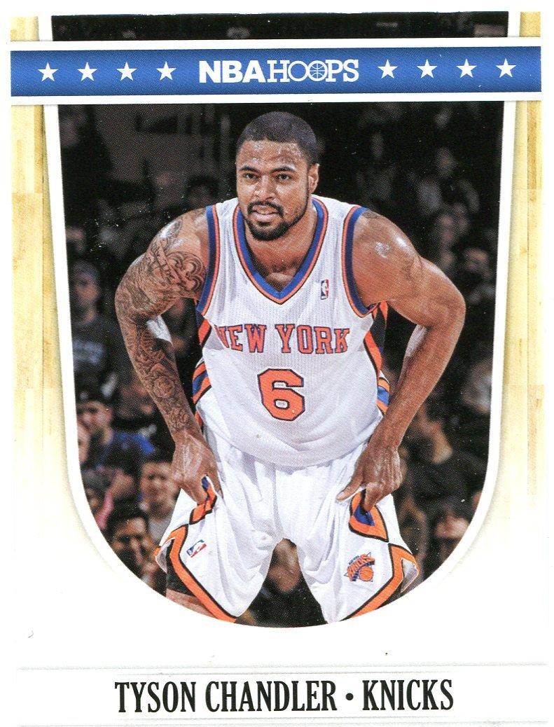 2011 Hoops Basketball Card #39 Tyson Chandler