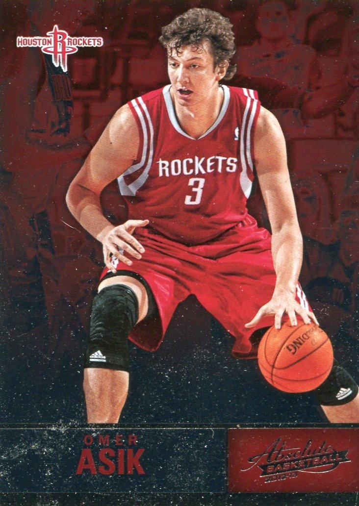 2012 Absolute Basketball Card #89 Omer Asik