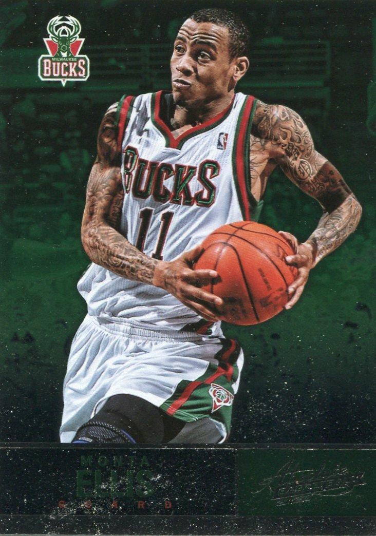 2012 Absolute Basketball Card #92 Monta Ellis