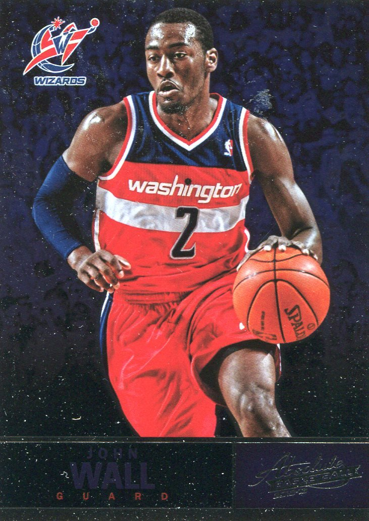 2012 Absolute Basketball Card #90 John Wall
