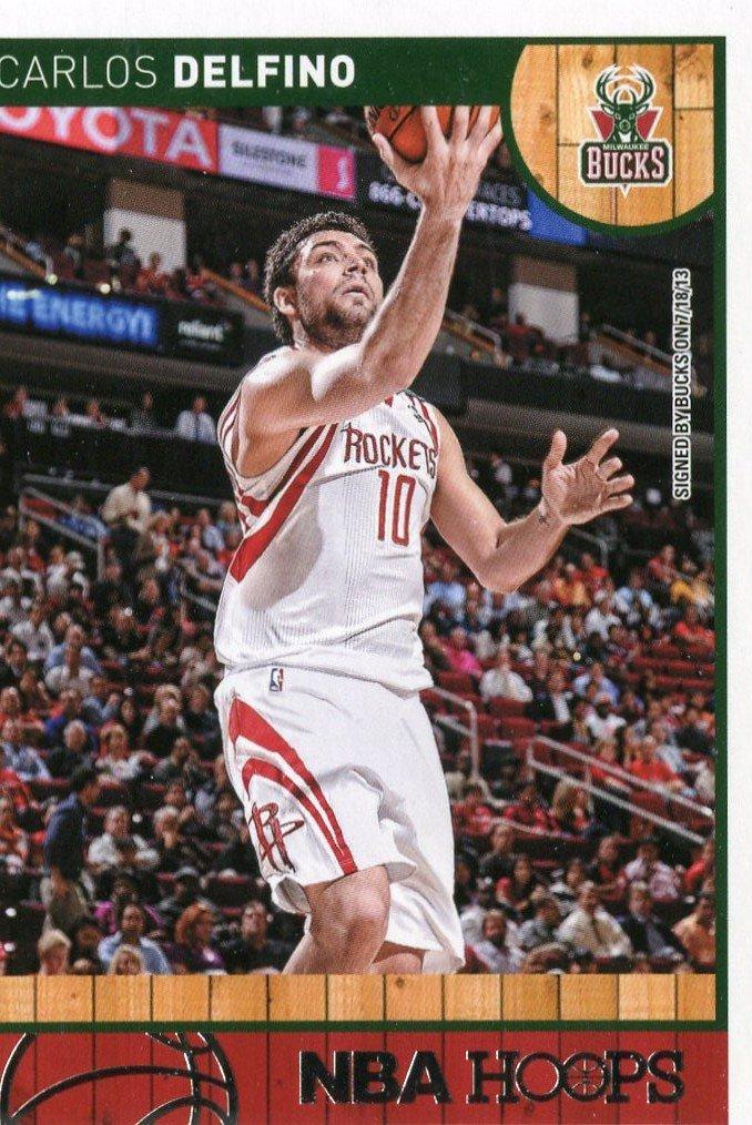 2013 Hoops Basketball Card #104 Carlos Delfino