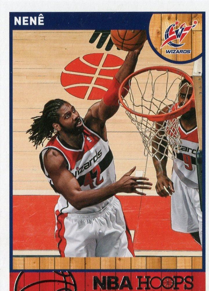 2013 Hoops Basketball Card #111 Nene