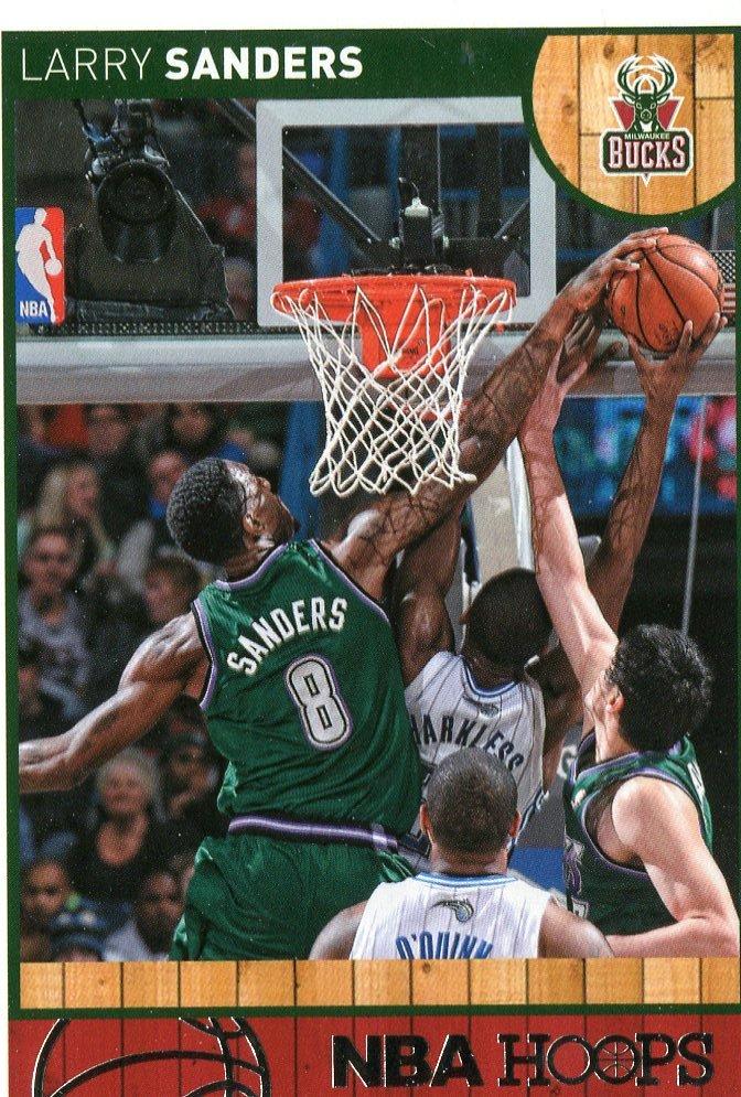 2013 Hoops Basketball Card #117 Larry Sanders