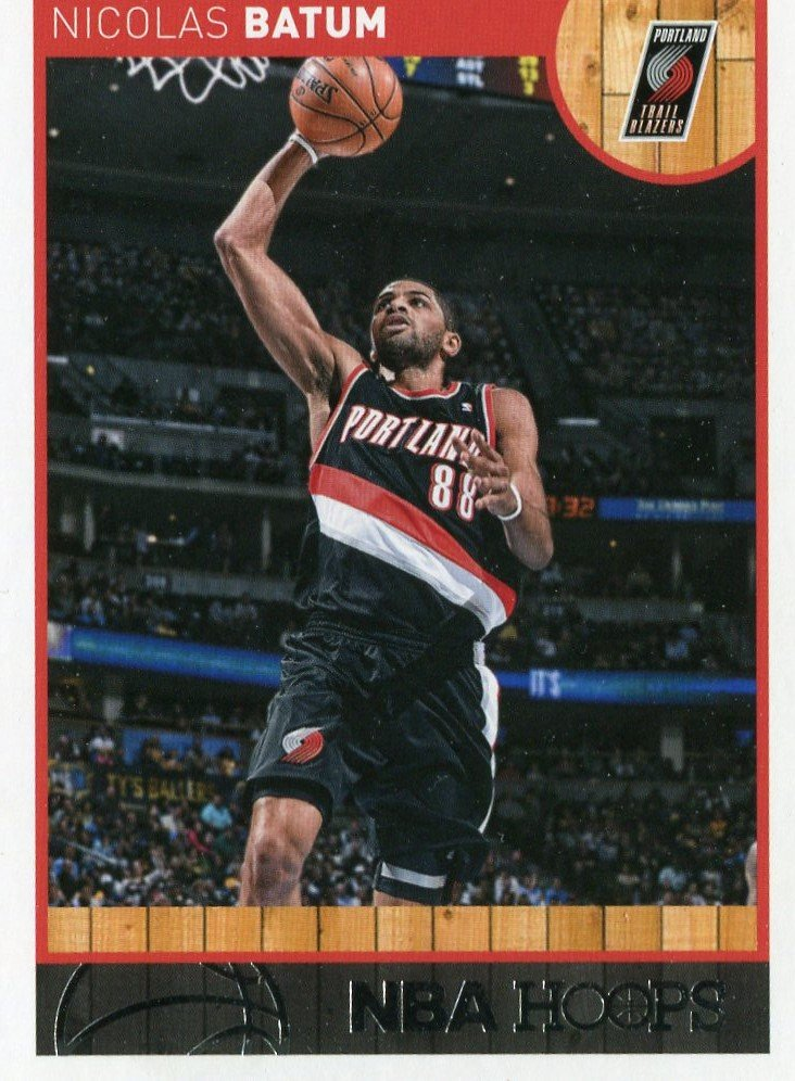 2013 Hoops Basketball Card #126 Nicolas Batum