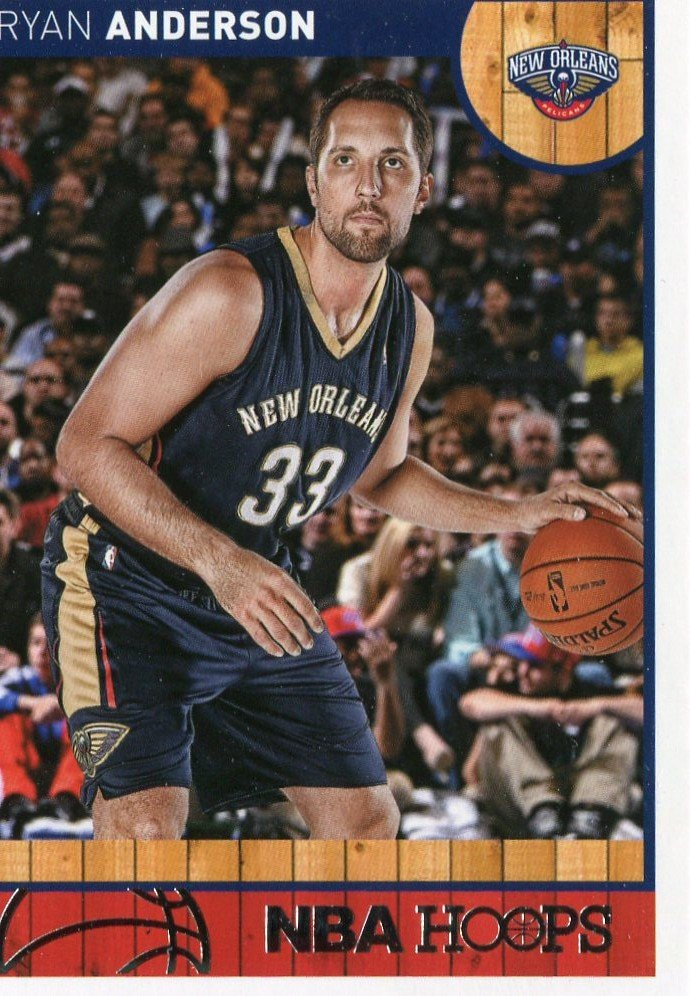 2013 Hoops Basketball Card #128 Ryan Anderson