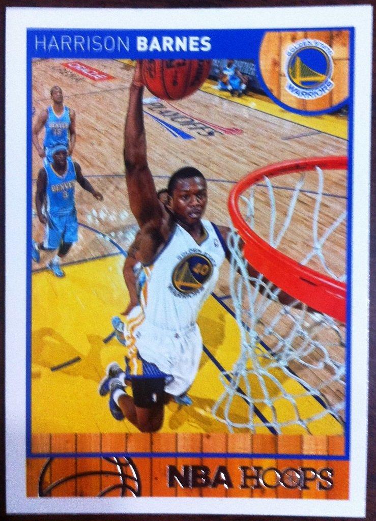 2013 Hoops Basketball Card #134 Harrison Barnes