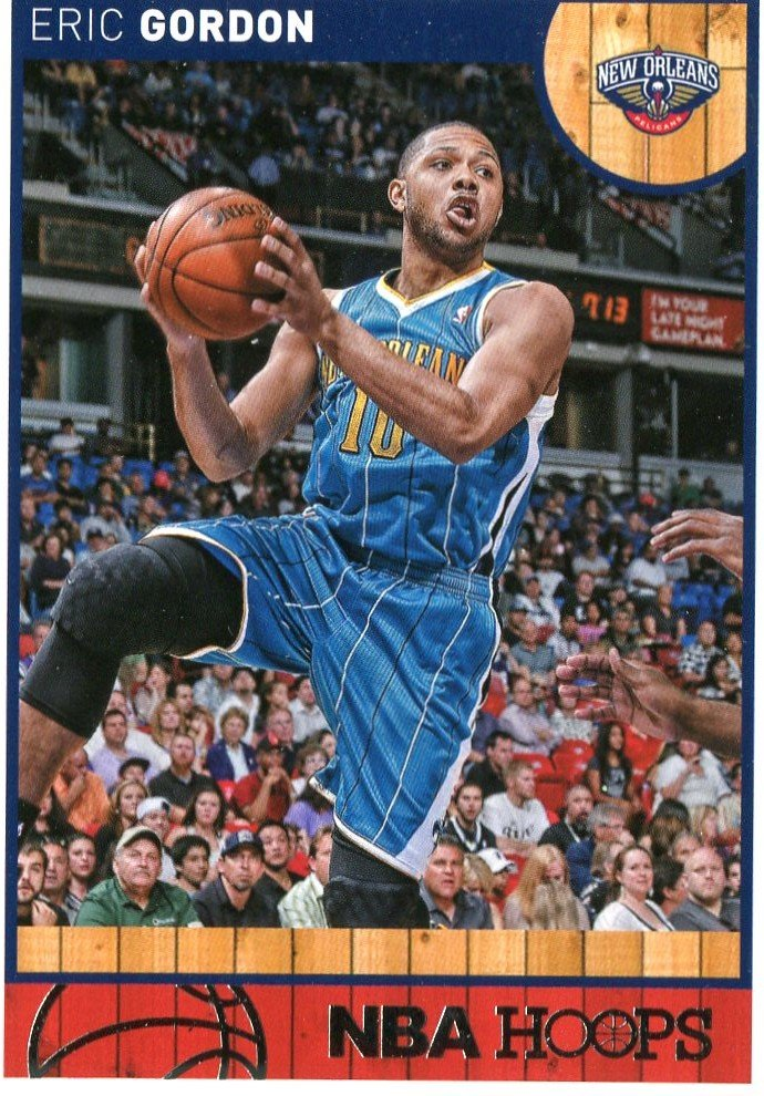 2013 Hoops Basketball Card #143 Eric Gordon
