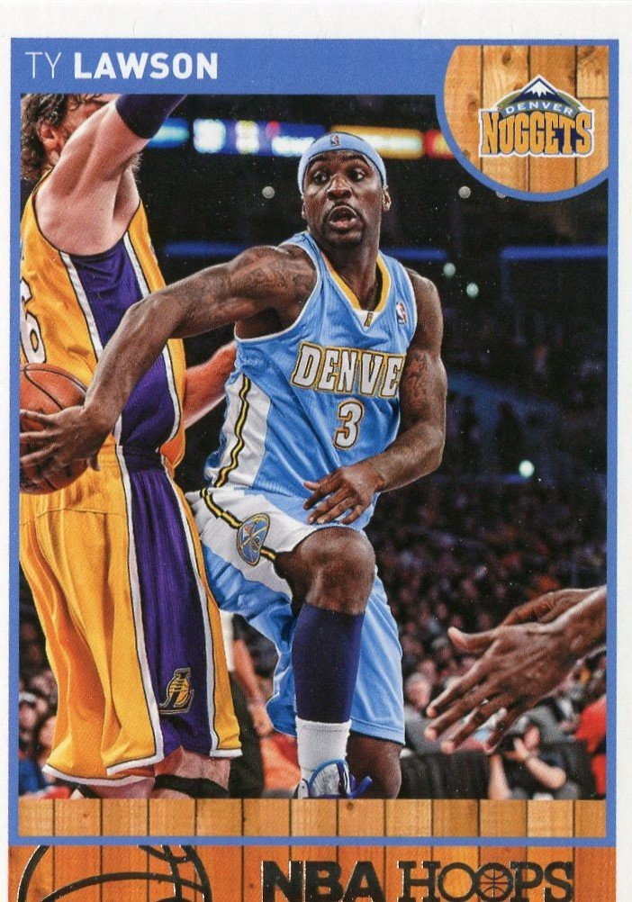 2013 Hoops Basketball Card #145 Ty Lawson