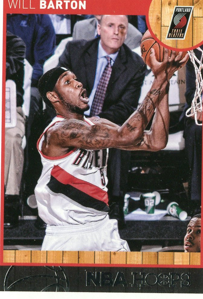 2013 Hoops Basketball Card #150 Will Barton