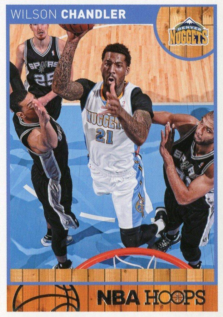 2013 Hoops Basketball Card #155 Wilson Chandler