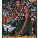 2013 Hoops Basketball Card #159 Brandon Knight