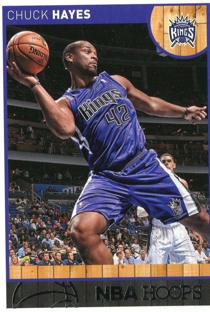2013 Hoops Basketball Card #160 Chuck Hayes