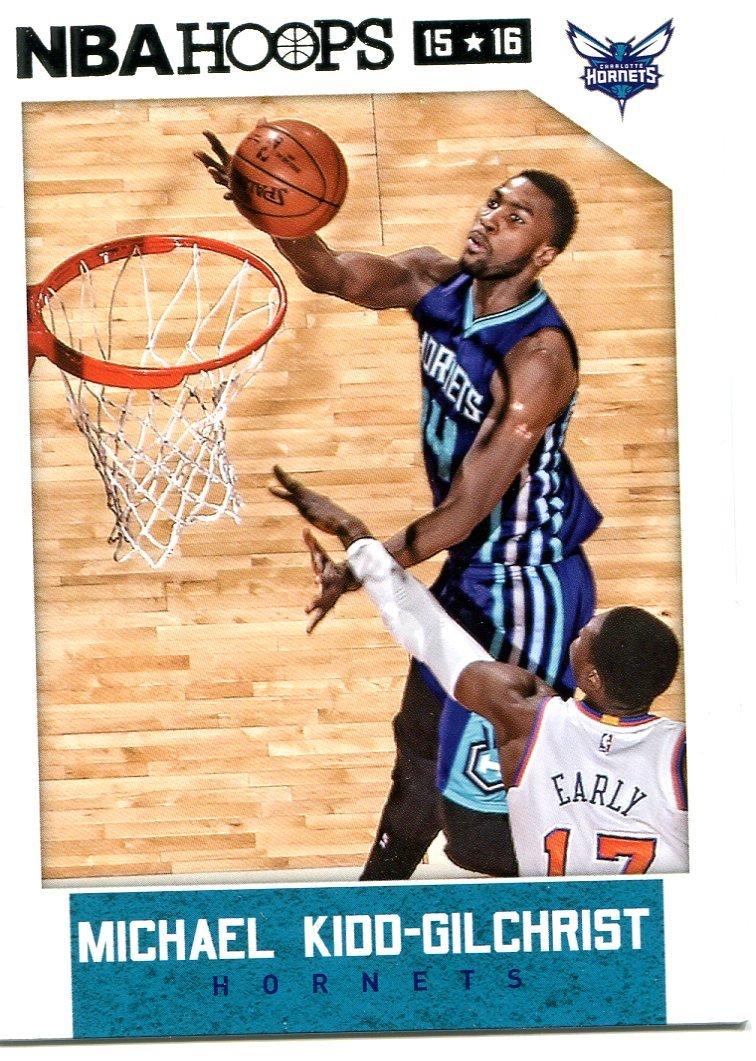 2015 Hoops Basketball Card #244 Michael Kidd-Gilchrist