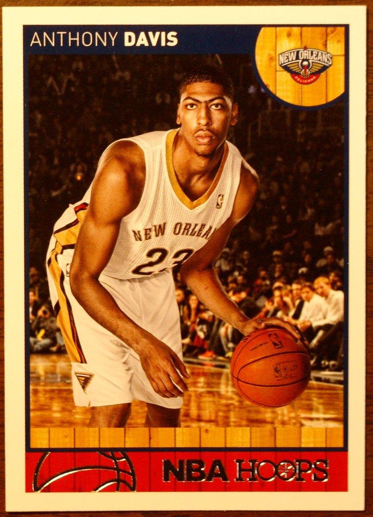 2013 Hoops Basketball Card #157 Anthony Davis