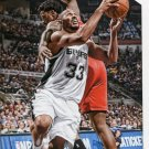 2015 Hoops Basketball Card #255 Boris Diaw