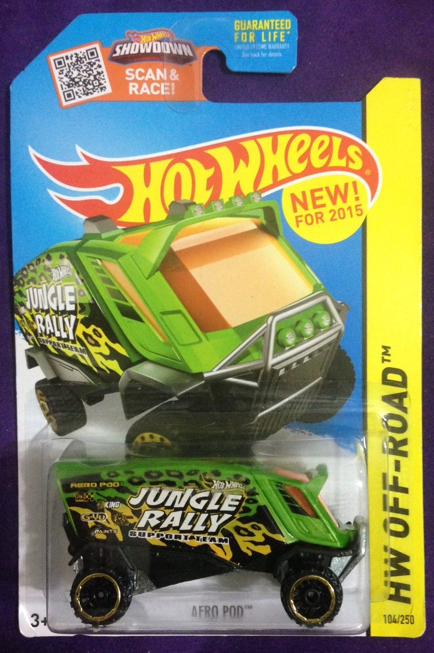 2015 Hot Wheels #104 Aero Pod