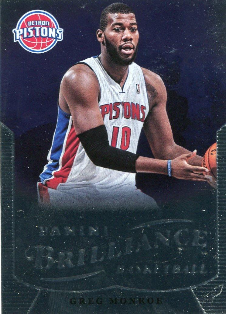 2012 Brilliance Basketball Card #62 Greg Monroe