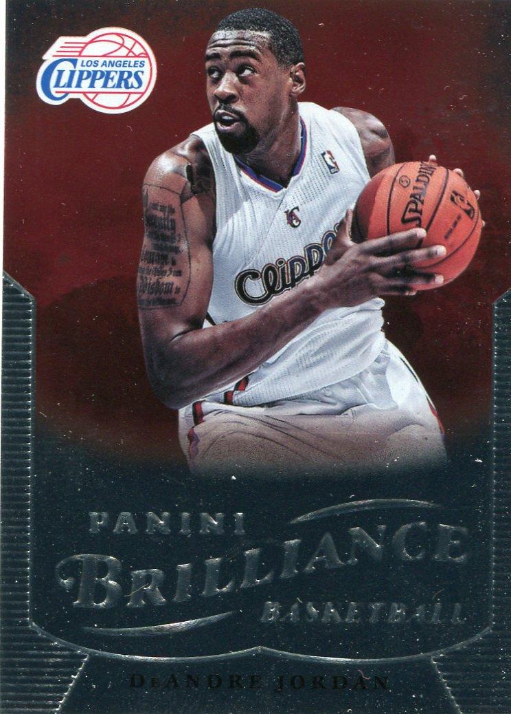 2012 Brilliance Basketball Card #88 DeAndre Jordan