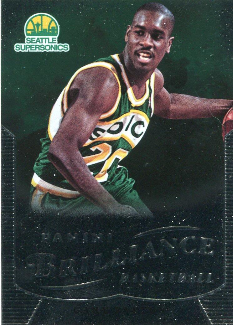 2012 Brilliance Basketball Card #210 Gary Payton