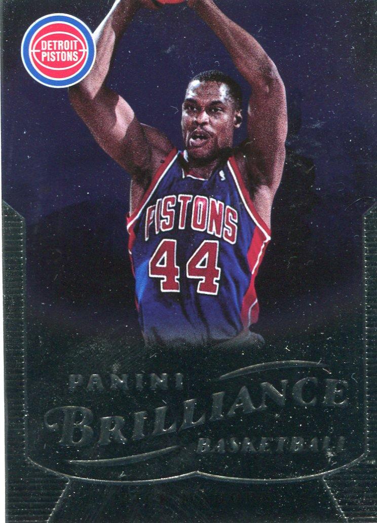 2012 Brilliance Basketball Card #226 Rick Mahorn