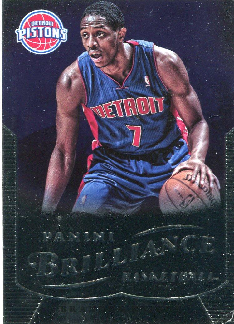 2012 Brilliance Basketball Card #268 Brandon Knight