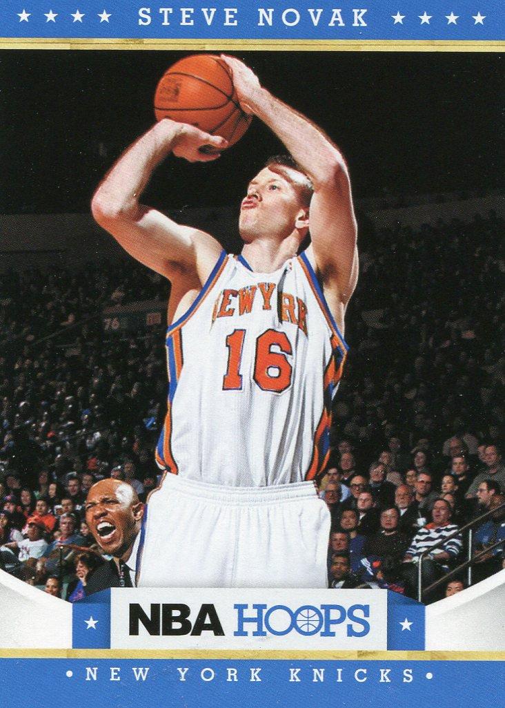 2012 Hoops Basketball Card #20 Steve Novak
